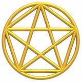 Pentagram ilustración del vector