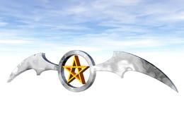 Pentagram Stock Image