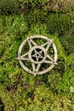 Pentagram closeup photo Stock Photo