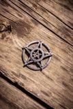 Pentagram closeup photo Stock Photography