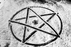 Pentagram closeup photo Royalty Free Stock Photography