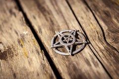 Pentagram closeup photo Royalty Free Stock Image