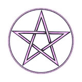 Pentagram Royalty Free Stock Images