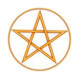 Pentagram Royalty Free Stock Photo
