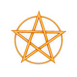 Pentagram Royalty Free Stock Photography
