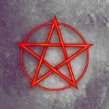 Pentagram Symbol Stock Photography