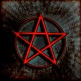 Pentagram Symbol Stock Photo