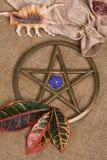 pentagrama wicca Obrazy Stock