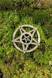 Pentagrama zbliżenia fotografia Zdjęcie Stock