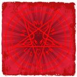 Pentagramma Fotografia Stock