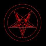 Pentagramsymbool Royalty-vrije Stock Fotografie