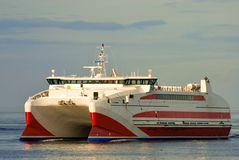 Pentalina fast ferry, Scotland Royalty Free Stock Images