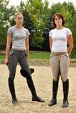 Pentathlonists de Leila Gyenesei et de Zsuzsanna Voros Image libre de droits