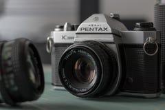 Pentax Ashi K1000 immagine stock libera da diritti