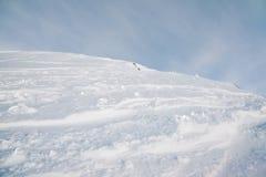 Pente de la colline sur Caucase du nord Photographie stock libre de droits