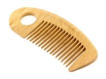 Pente de madeira Imagem de Stock Royalty Free