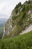 Pente de montagne Images libres de droits