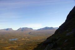 Pente de montagne Photos libres de droits