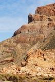 Pente de montagne du volcan Photo libre de droits