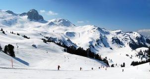 Pente de ski Images libres de droits