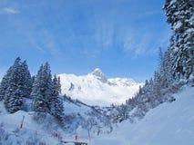 Pente de ski Image stock