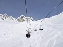 Pente de ski Photo libre de droits
