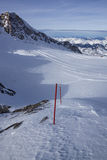 Pente de ski Photo stock