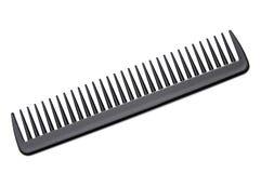 Pente do cabelo preto Fotos de Stock