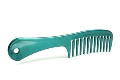 Pente plástico do cabelo Foto de Stock Royalty Free