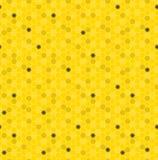 Pente sem emenda do mel do teste padrão Foto de Stock Royalty Free