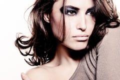 Penteado da mulher Imagens de Stock Royalty Free