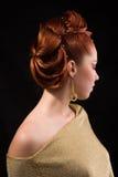 Penteado profissional. Fotos de Stock