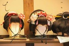 Penteados japoneses Fotografia de Stock