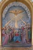 Pentecôte, la descente du Saint-Esprit photo stock