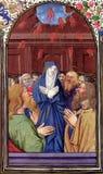 Pentecost - przybycie Święty duch Obrazy Royalty Free