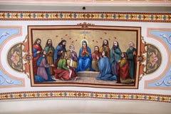 Pentecost spadek Święty duch zdjęcie stock