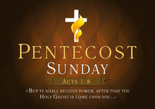 Free Pentecost Sunday Card Stock Photo - 52178630