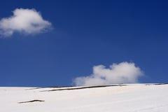 Pentes de montagne photographie stock libre de droits