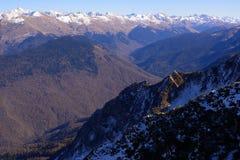 Pentes de montagne Image libre de droits