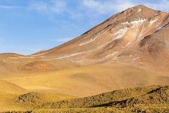 Pentes de montagne dans la réserve nationale de flamenco de visibilité directe images libres de droits