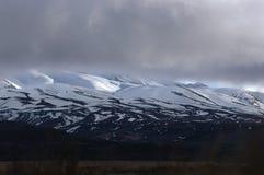Pentes de neige sur Ruapehu Photos stock