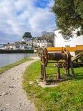 Pentewan Cornwall England Großbritannien Lizenzfreies Stockbild