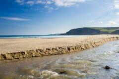 Pentewan Cornwall England Großbritannien Stockfotografie