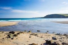 Pentewan Cornwall England Großbritannien Stockbilder