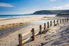 Pentewan Cornwall England Großbritannien Stockbild