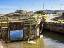 Pentewan Cornwall England UK Royaltyfri Bild