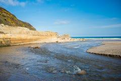 Pentewan Cornwall England UK Royaltyfri Fotografi