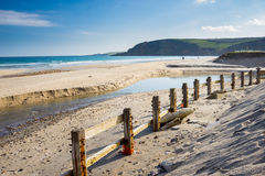Pentewan Cornwall England UK Stock Image