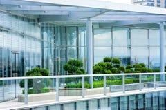 Penthouse garden Stock Image