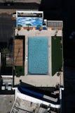 Penthouse pool Stock Image